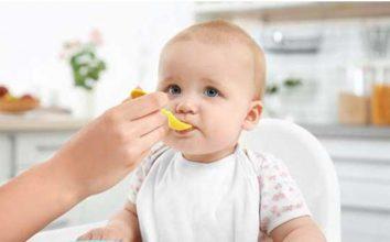 Süt Alerjisi Olan Bebekler İçin Ara Öğün