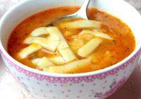 Kesme Makarna Çorbası
