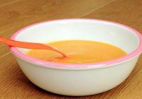 Bebekler İçin Portakallı Kereviz Çorbası